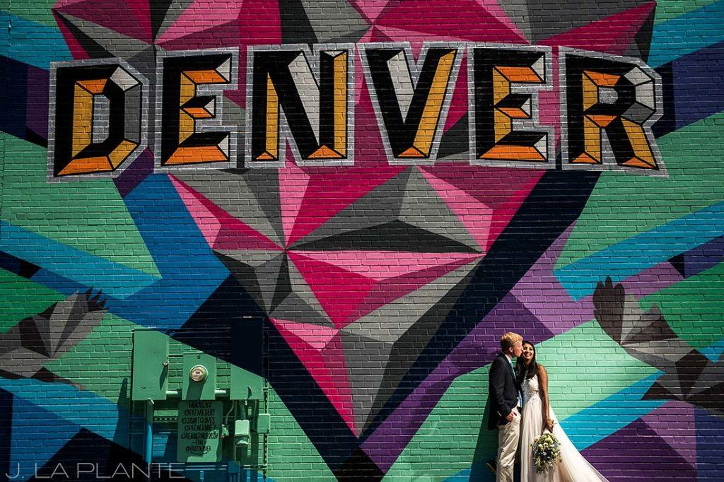 Washington Park Wedding   RiNo Street Art   Denver wedding photographer   J La Plante Photo