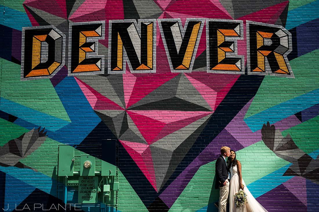 Washington Park Wedding | RiNo Street Art | Denver wedding photographer | J La Plante Photo