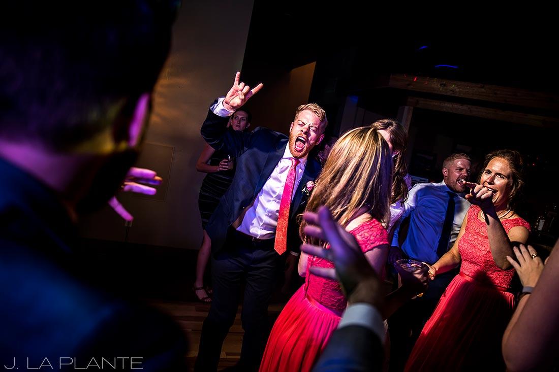 Edgewood Inn Wedding   Colorado Springs Wedding Photographer   Wedding dance party   J La Plante Photo