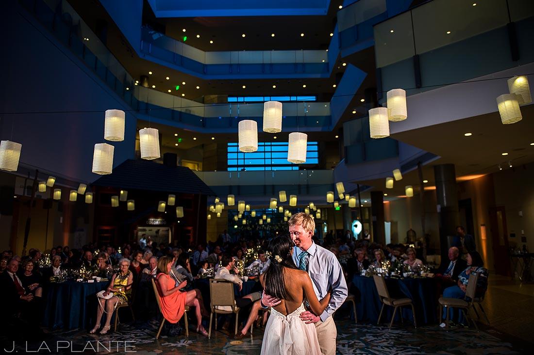 History Colorado Wedding |First dance | Denver wedding photographer | J La Plante Photo
