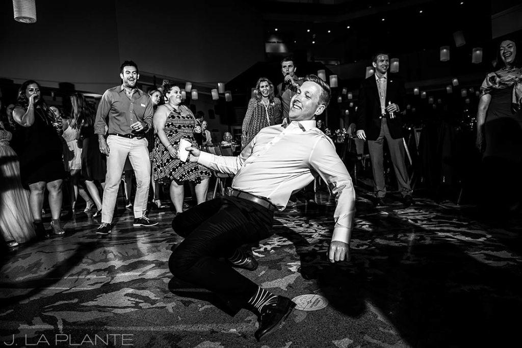History Colorado Wedding   Reception dancing   Denver wedding photographer   J La Plante Photo