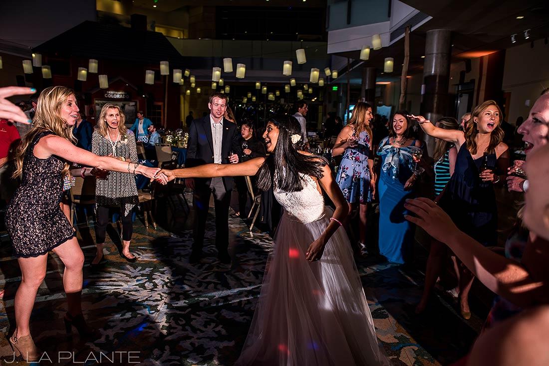 History Colorado Wedding | Bride dancing | Denver wedding photographer | J La Plante Photo