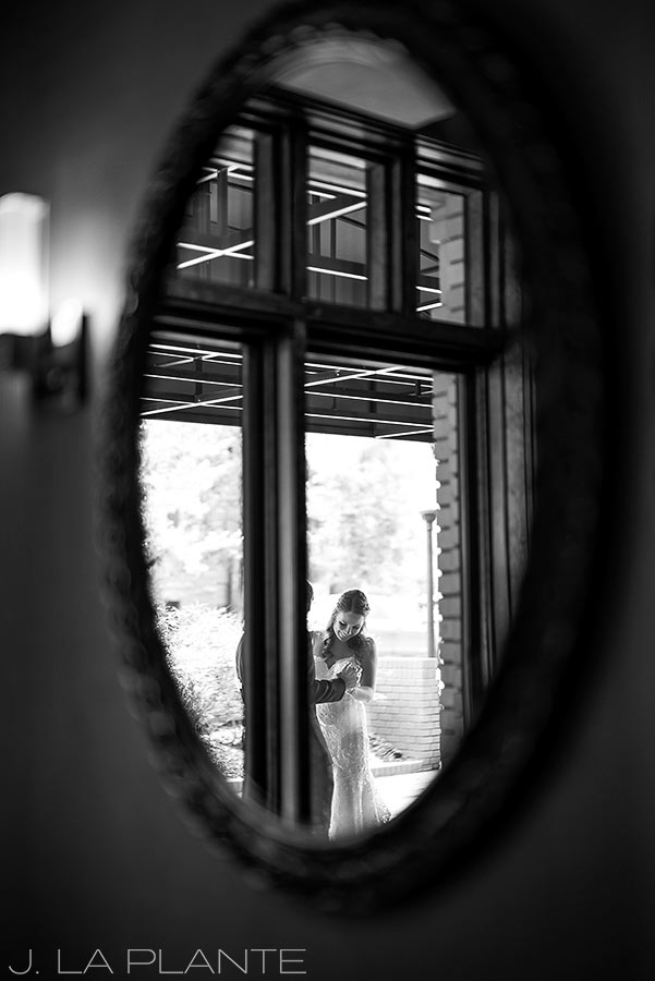 Greenbriar Inn wedding | First look at Boulderado | Boulder wedding photographer | J La Plante Photo