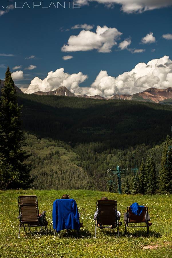 Purgatory Resort wedding | Groom and best man | Colorado wedding photographer | J La Plante Photo