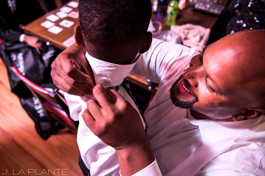 JW Marriott Cherry Creek Wedding | Ringbearers ready | Denver wedding photographer | J La Plante Photo
