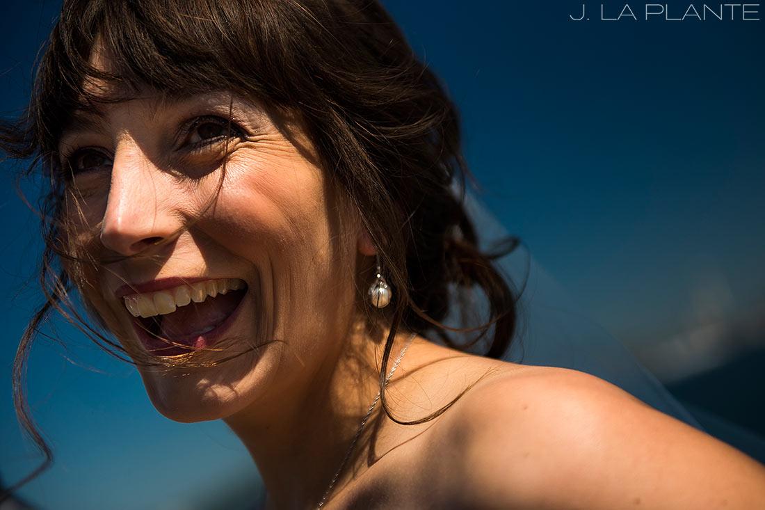 Seattle wedding | Bride laughing | Seattle destination wedding photographer | J La Plante Photo