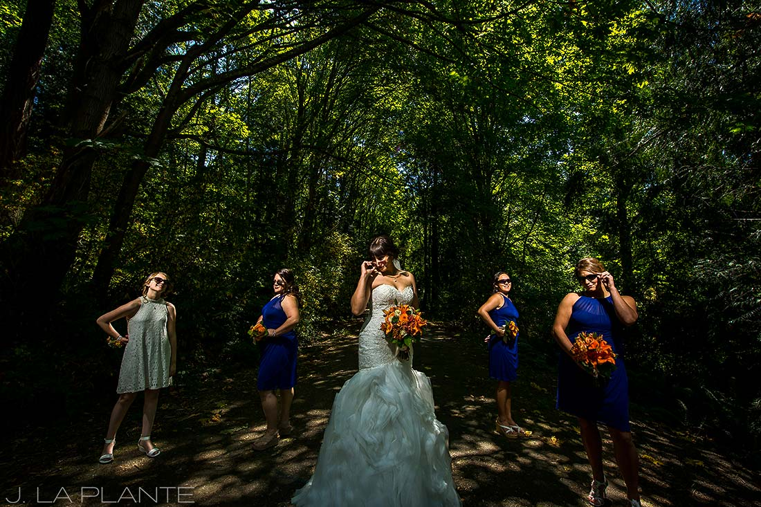 Seattle wedding | Bridesmaids album cover photo | Seattle destination wedding photographer | J La Plante Photo