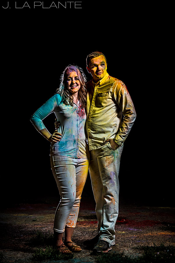 Holi Powder Engagement Session | Denver wedding photographer | J La Plante Photo