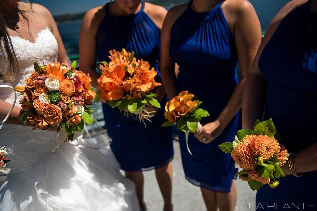 Seattle wedding | Bridesmaids bouquets | Seattle destination wedding photographer | J La Plante Photo