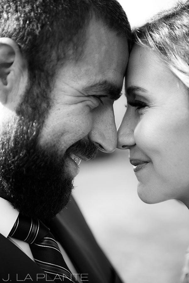 Purgatory Resort wedding | Bride and groom | Colorado wedding photographer | J La Plante Photo