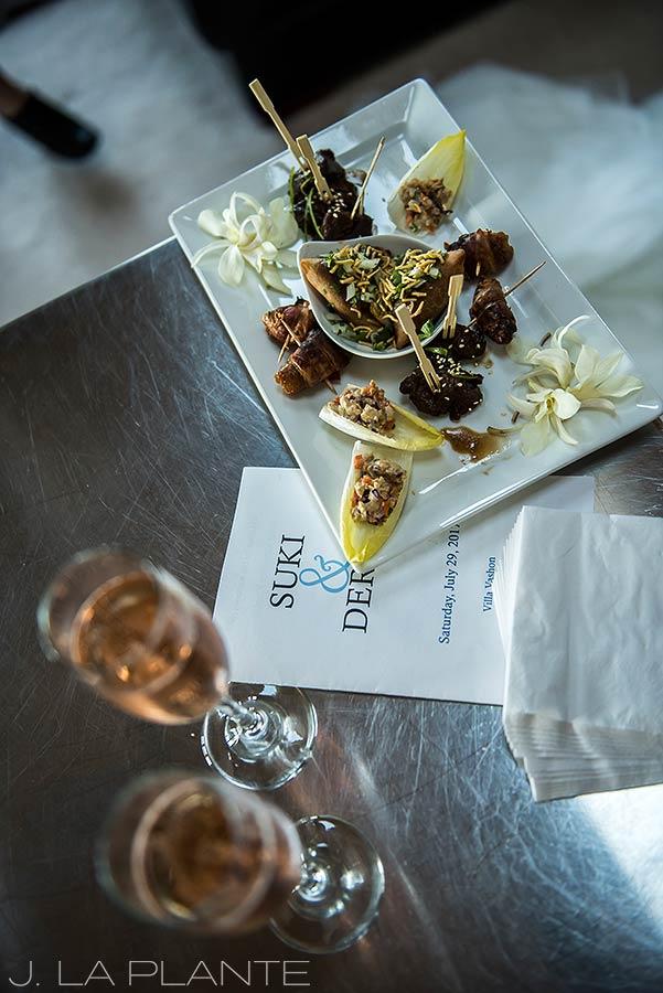 Vashon Island Wedding | Hors d'ouevres | Seattle destination wedding photographer | J La Plante Photo