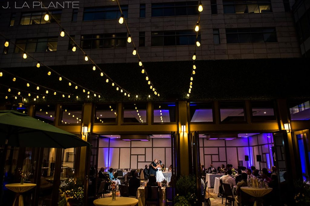 JW Marriott Cherry Creek Wedding | First dance | Denver wedding photographer | J La Plante Photo