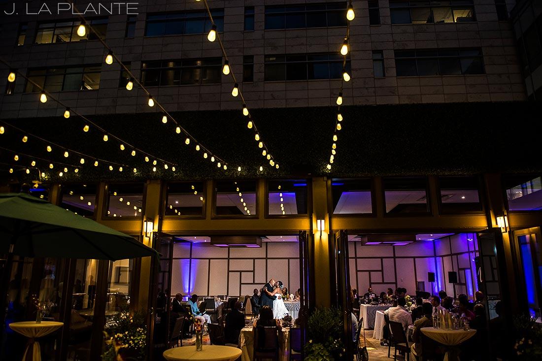 JW Marriott Cherry Creek Wedding | First dance | Denver wedding photographer | J La Plante Photo