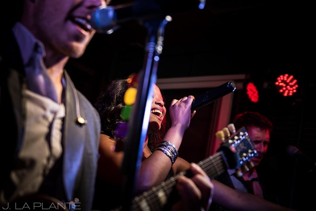 Greenbriar Inn wedding | Live band at wedding reception | Boulder wedding photographer | J La Plante Photo