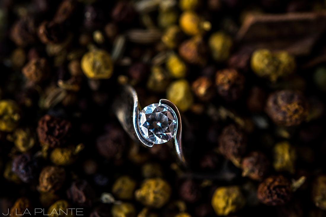 Rocky Mountain National Park Elopement | Engagement ring | Colorado Elopement Photographer | J La Plante Photo