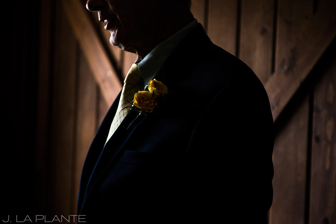 Crooked Willow Farms Wedding | Bride's father | Colorado Wedding Photographer | J La Plante Photo