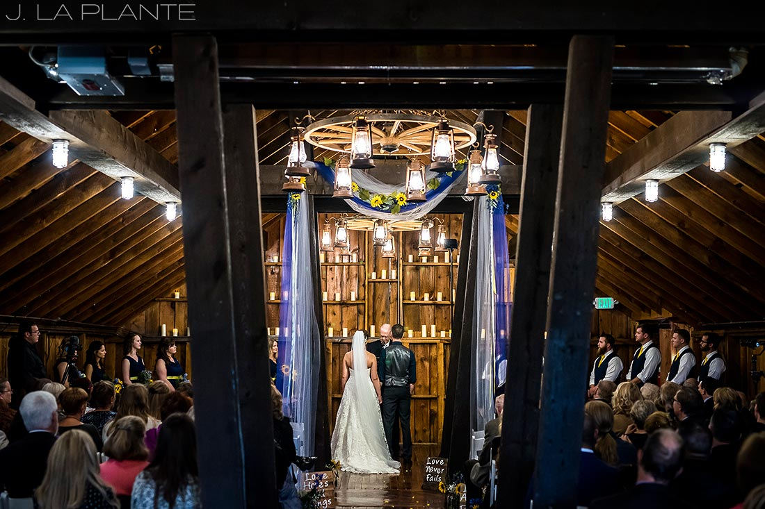 Crooked Willow Farms Wedding | Wedding ceremony | Colorado Wedding Photographer | J La Plante Photo