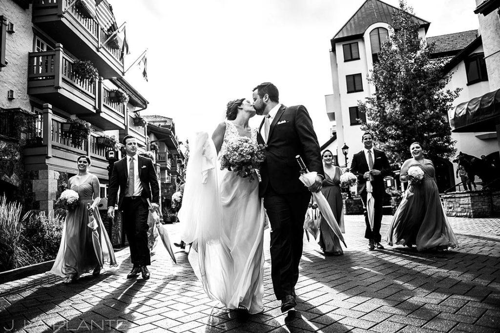 Fall Vail Wedding | Wedding party portrait | Vail Wedding Photographer | J La Plante Photo