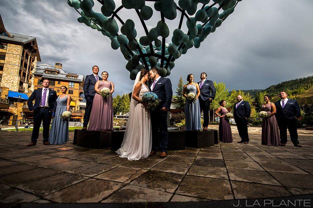 unique photo of bridal party