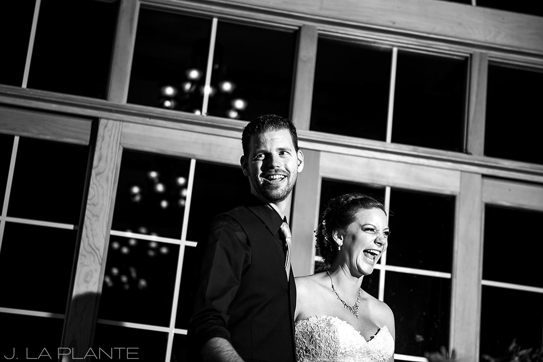 Crooked Willow Farms Wedding | Toasts | Colorado Wedding Photographer | J La Plante Photo