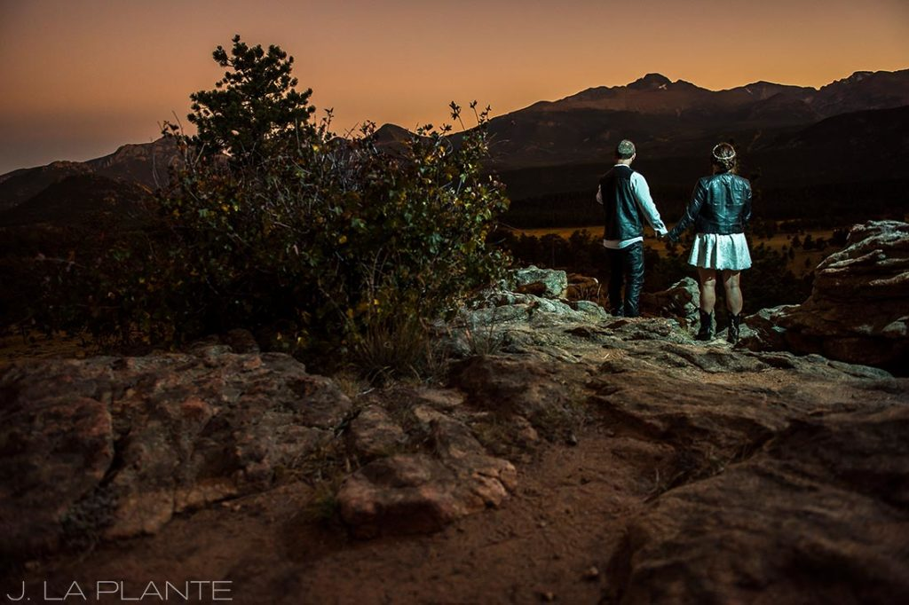 Rocky Mountain National Park Elopement | Sunset elopement | Colorado Elopement Photographer | J La Plante Photo