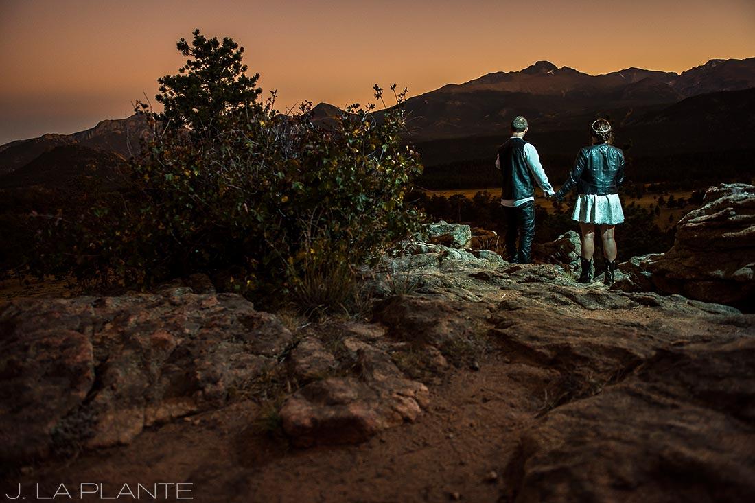 Rocky Mountain National Park Elopement | Sunset elopement | Colorado Elopement Photographer | J La Plante Photo