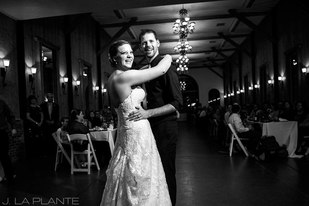 Crooked Willow Farms Wedding   First dance   Colorado Wedding Photographer   J La Plante Photo