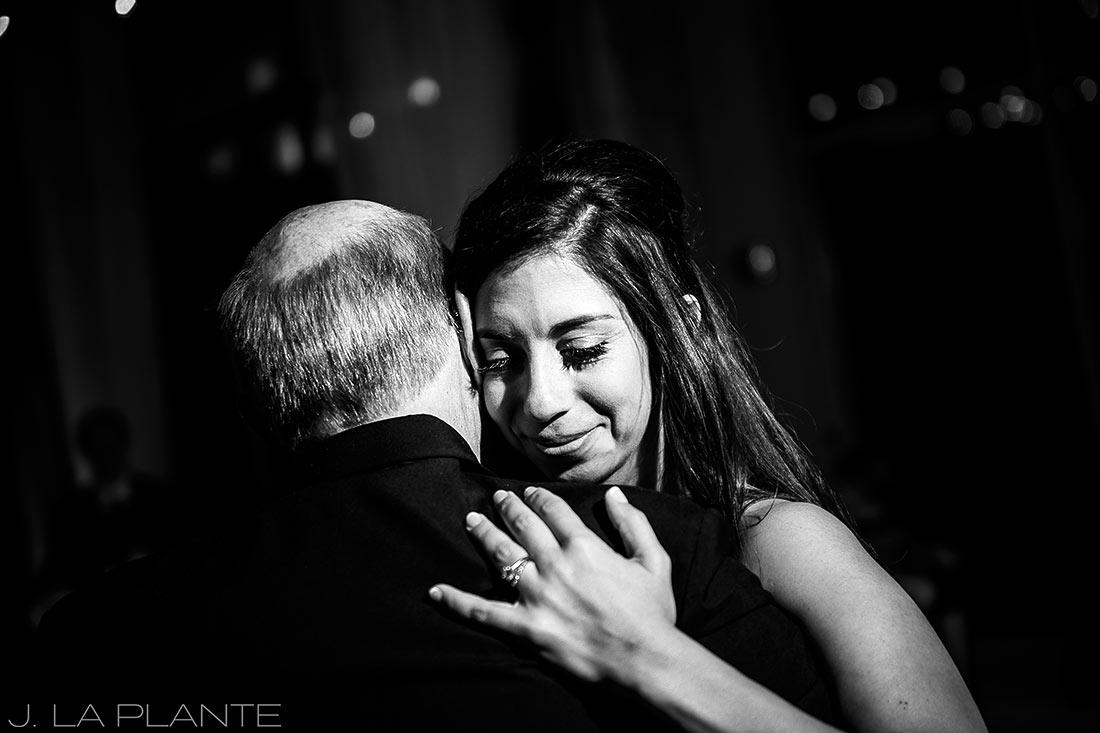 Fall Copper Mountain Wedding | Father daughter dance | Colorado Destination Wedding Photographer | J La Plante Photo