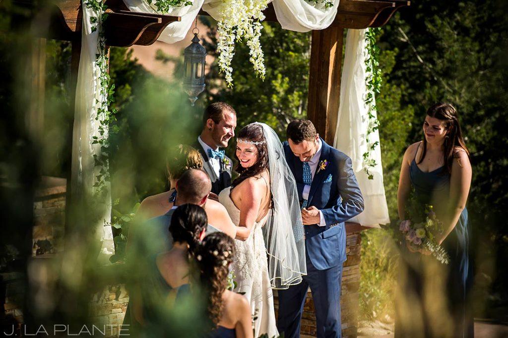 morrison colorado wedding ceremony