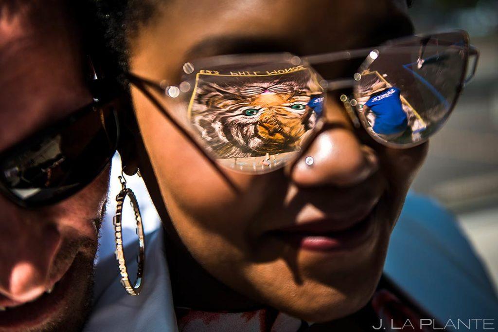 Denver Chalk Art Festival Engagement | Downtown Denver Engagement | Denver Wedding Photographers | J. La Plante Photo