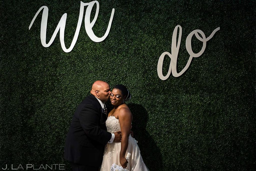 Bride and Groom Portrait | JW Marriott Cherry Creek Wedding | Denver Wedding Photographers | J. La Plante Photo
