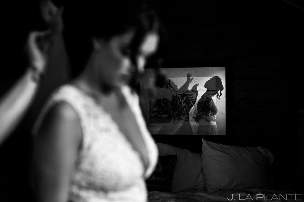 Bride Getting Ready | Sonnenalp Hotel Wedding | Vail Wedding Photographer | J. La Plante Photo