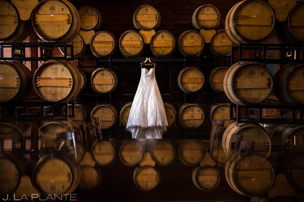 Wedding Dress Detail Photo | Crooked Willow Farms Wedding | Colorado Springs Wedding Photographer | J. La Plante Photo