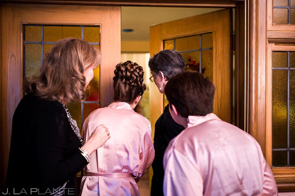 Bride Getting Ready | Corona Church Denver Wedding | Denver Wedding Photographers | J. La Plante Photo