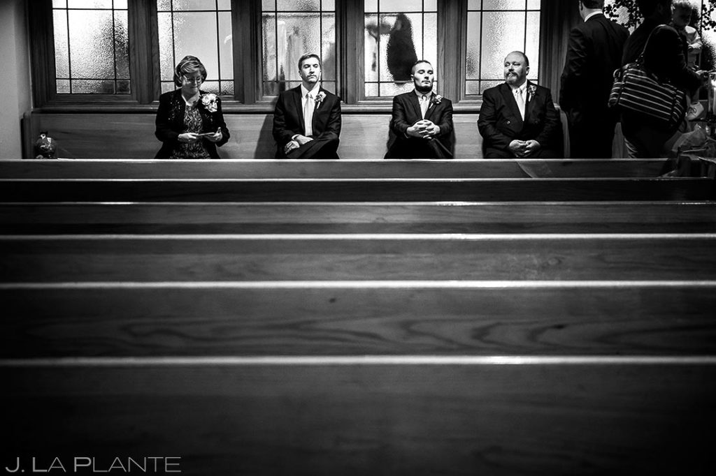 Denver Wedding Guests | Corona Church Denver Wedding | Denver Wedding Photographers | J. La Plante Photo