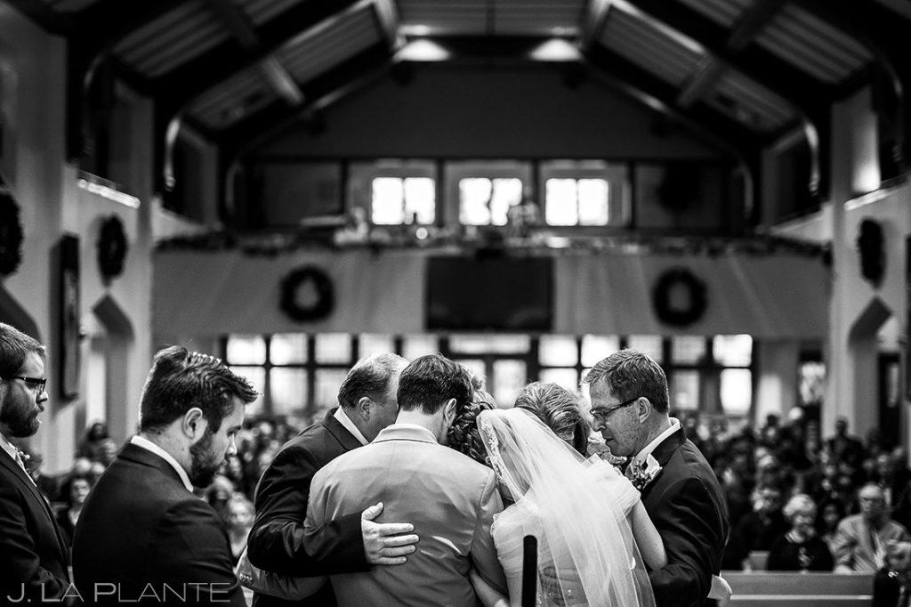 Denver Wedding Ceremony | Corona Church Denver Wedding | Denver Wedding Photographers | J. La Plante Photo