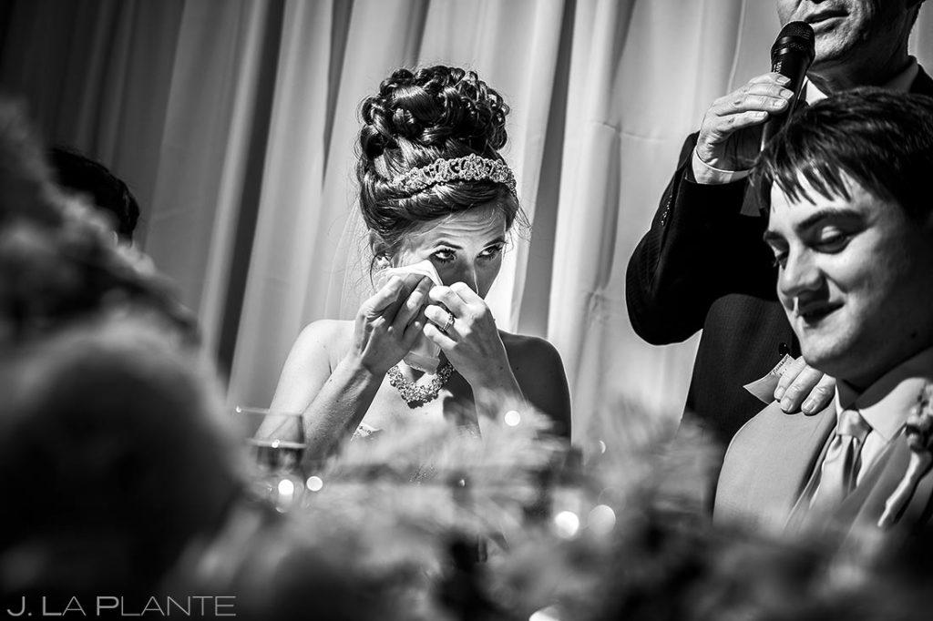 Father of the Bride Speech | Corona Church Denver Wedding | Denver Wedding Photographer | J. La Plante Photo