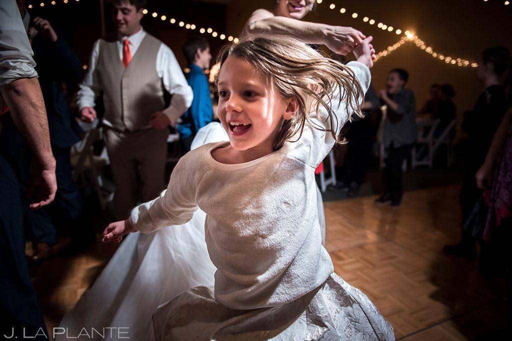Wedding Reception Dance Party | Corona Church Denver Wedding | Denver Wedding Photographer | J. La Plante Photo