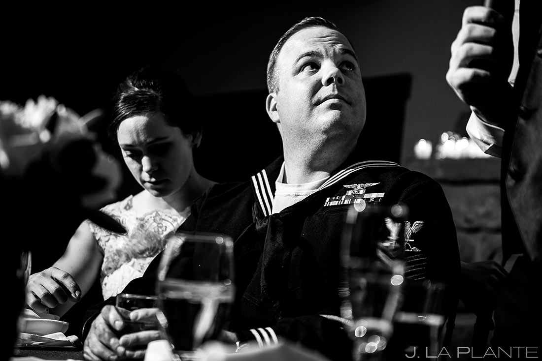 Toast | Mary's Lake Lodge Wedding | Estes Park Winter Wedding Photographer | J La Plante Photo