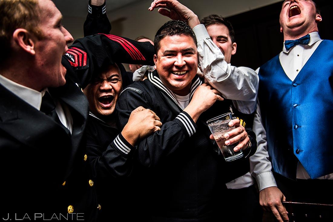 Guest dancing | Estes Park Winter Wedding | Estes Park Wedding Photographer | J La Plante Photo