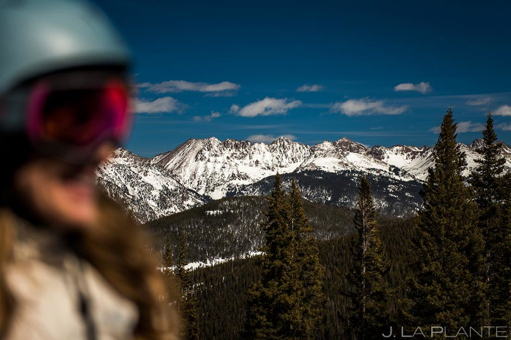 beautiful view of the gore range colorado