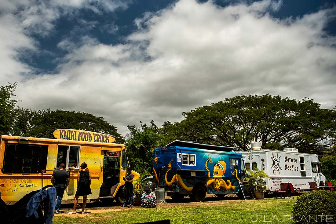 food truck court in kauai