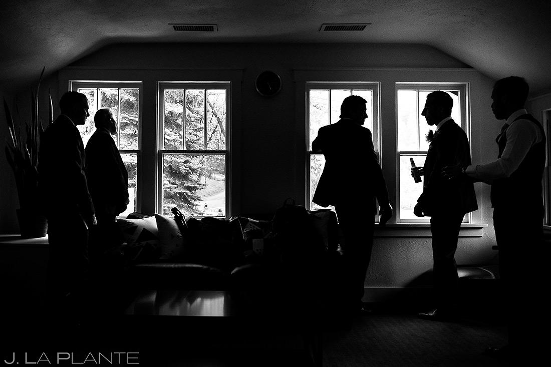 Groomsmen Getting Ready   Wedgewood Boulder Creek Wedding   Boulder Wedding Photographer   J. La Plante Photo