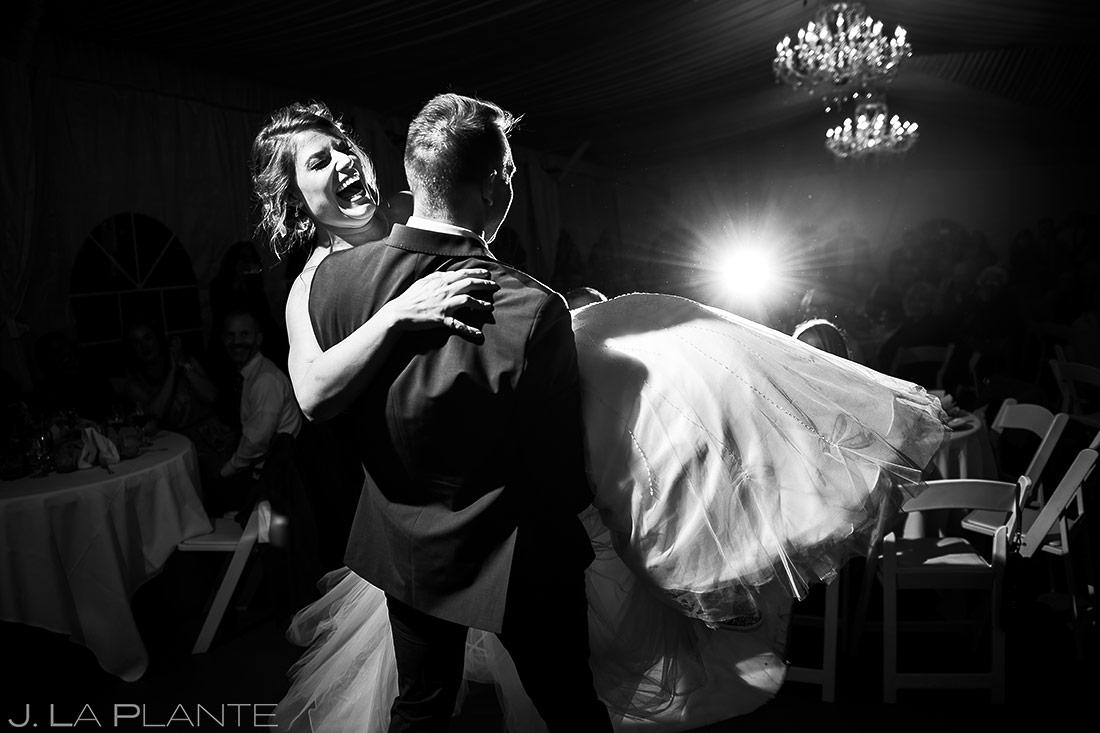 Frist Dance as Husband and Wife   Wedgewood Boulder Creek Wedding   Boulder Wedding Photographer   J. La Plante Photo