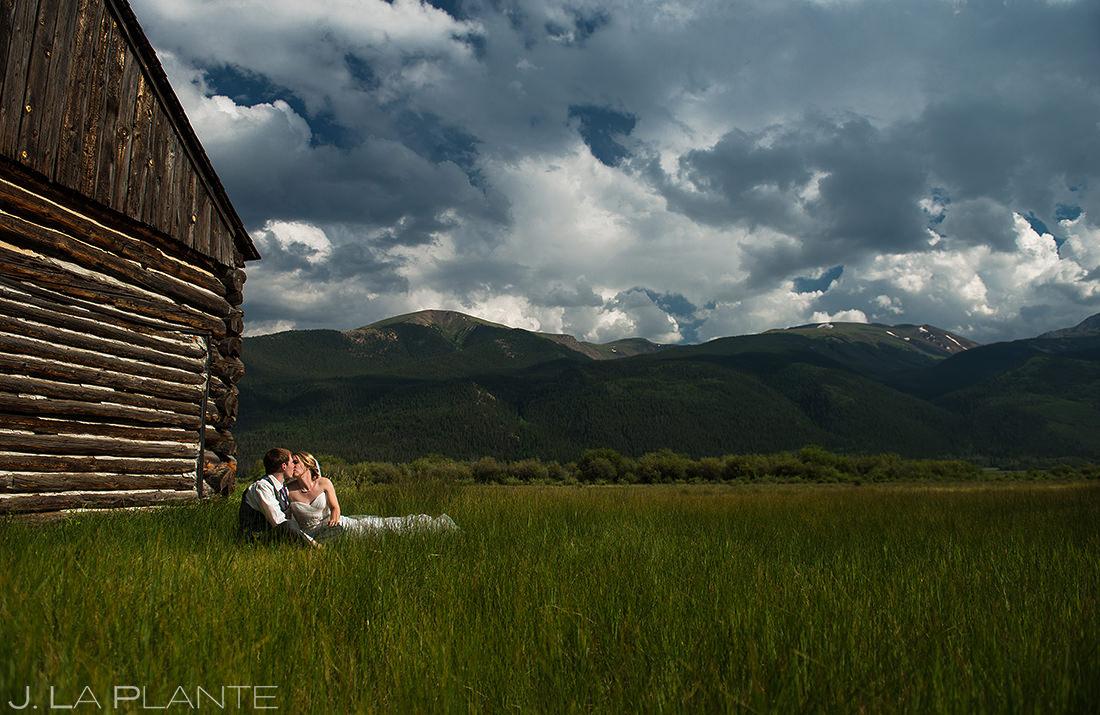 Rustic Colorado Barn Wedding Photo | Twin Lakes Colorado Wedding | Colorado Wedding Photographer | J. La Plante Photo