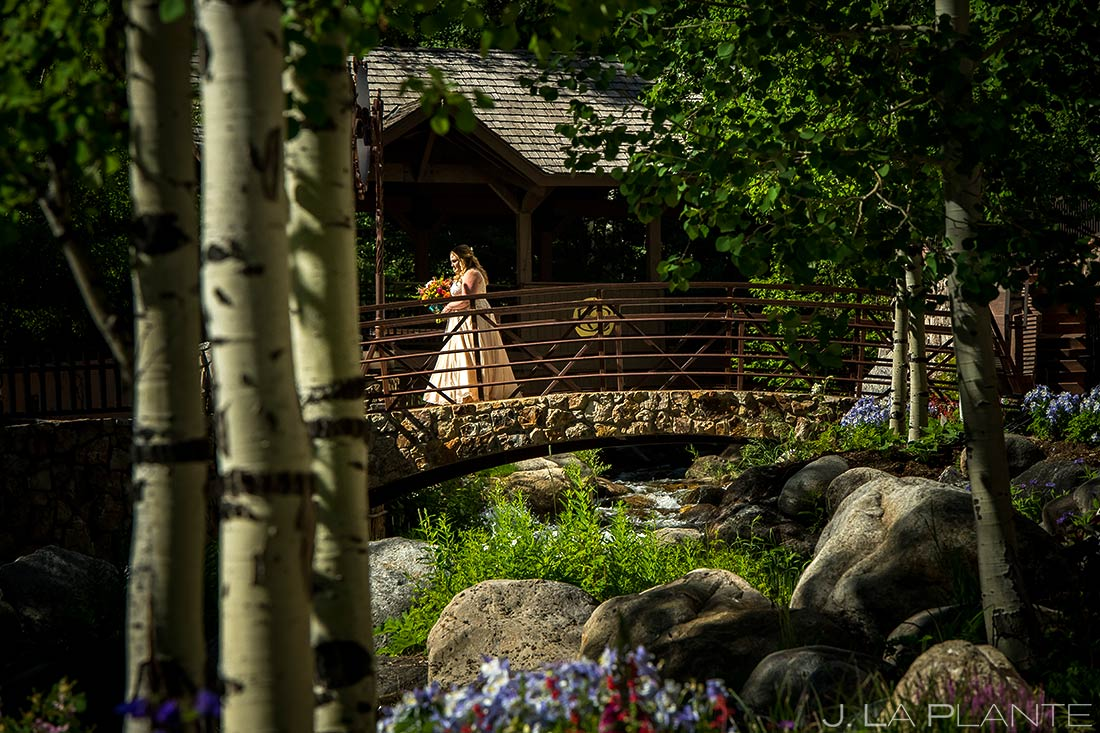 Bride and Groom First Look | Mountain Wedding | Colorado Wedding Photographer | J. La Plante Photo