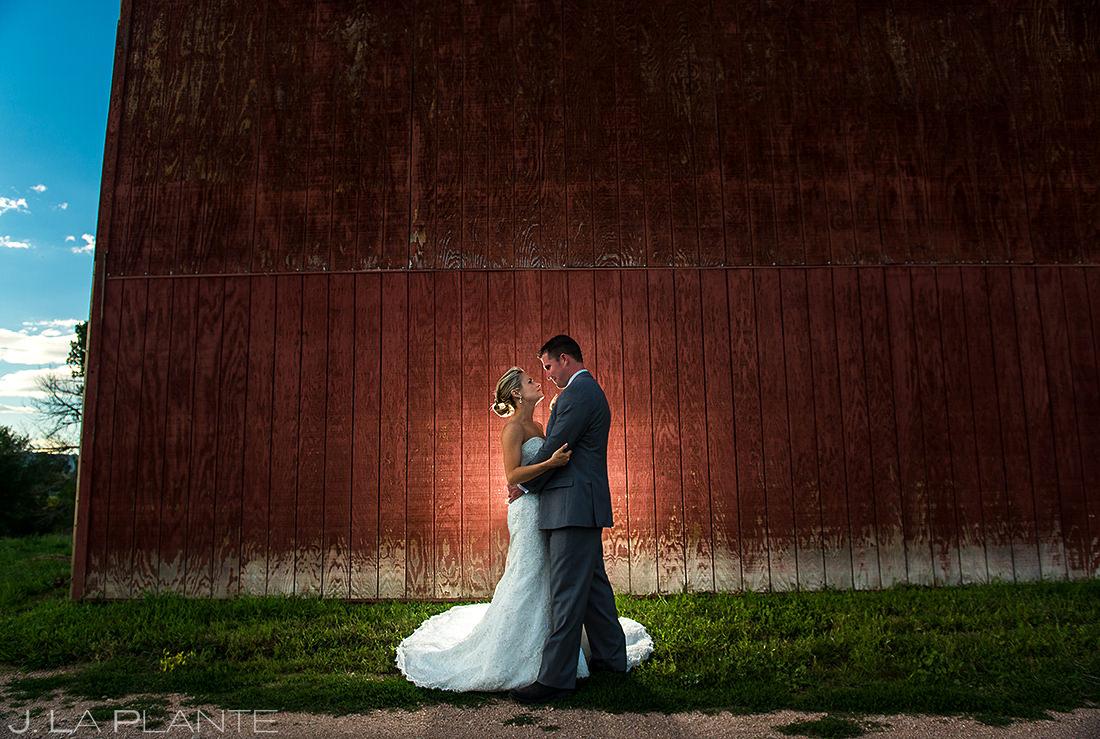 Rustic Barn Wedding Photo | Wiens Ranch Wedding | Colorado Wedding Photographer | J. La Plante Photo