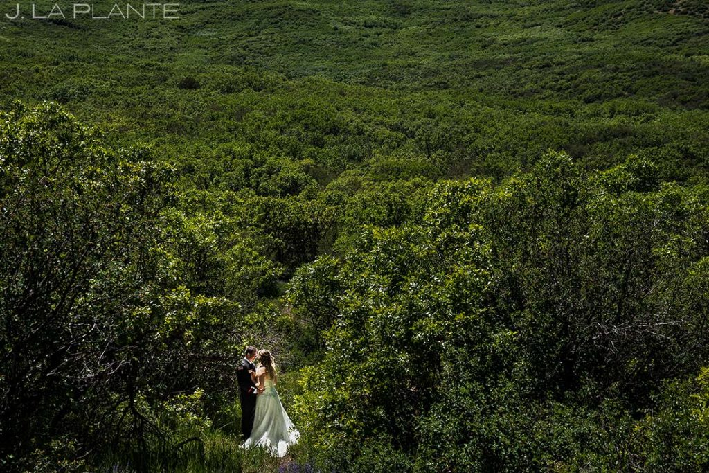 Bride and Groom Portrait | White Owl Ranch Wedding | Colorado Wedding Photographer | J. La Plante Photo