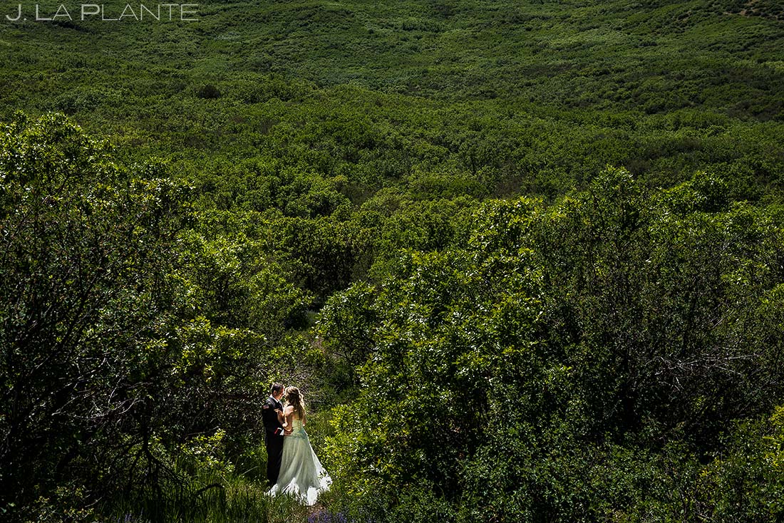 unique bride and groom portrait white owl ranch wedding