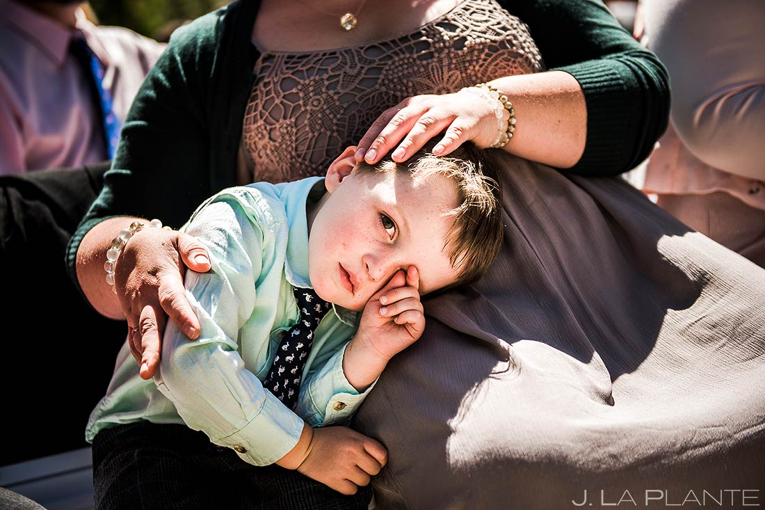 Cute Wedding Kids | Colorado Photographer | J. La Plante Photo